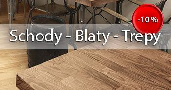 Drewno Klejone – schody, blaty i trepy. PROMOCJA!