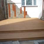 Drewniane elementy elewacji.