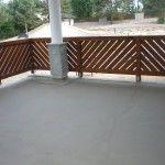 Ogrodzenie ażurowe drewniane