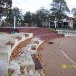 Ławki, Schody, Amfiteatr.