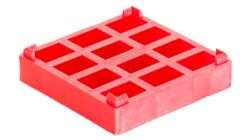 Podstawka czerwona 19mm